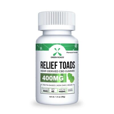 Green Roads Relief Toads - 400mg