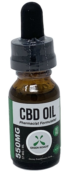 Green Roads 550mg CBD Oil