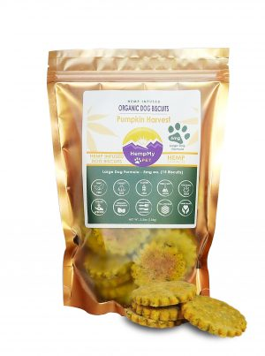 Organic Dog Biscuits- Large Breed Pumpkin 5mg