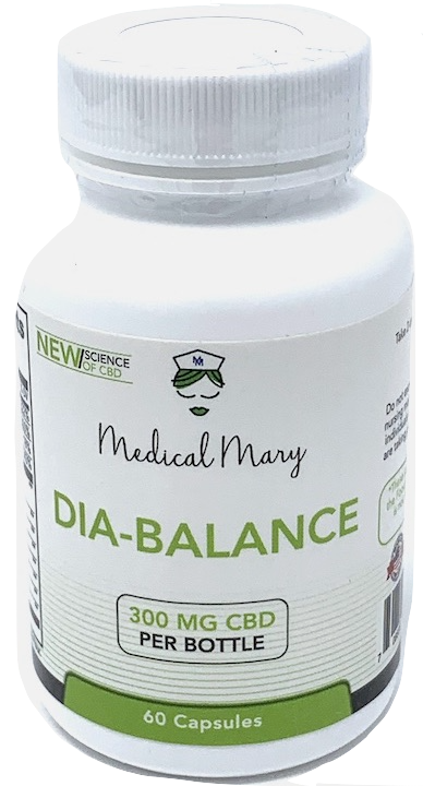 Medical Mary Diabetes Support CBD Capsules