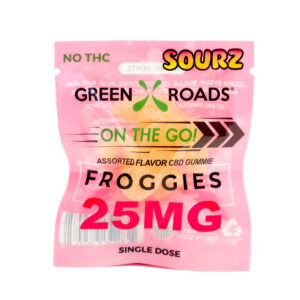 Green Roads On The Go 25mg Froggie Sour
