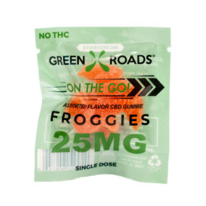 Green Roads On The Go Froggie