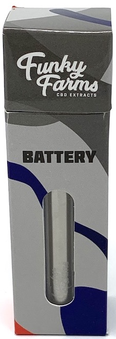 Brushed Aluminum 510 Battery