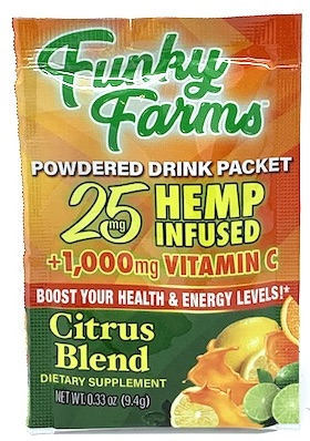 Funky Farms 25mg Drink Packets