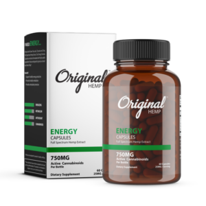 Original Hemp Energy Capsule 750