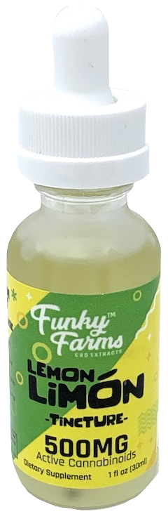 Funky Farms 30ML Lemon Limon MCT Tinctures