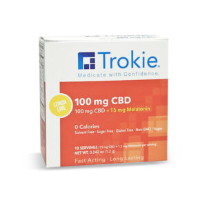 Trokie CBD Fast Melt Tab with Melatonin