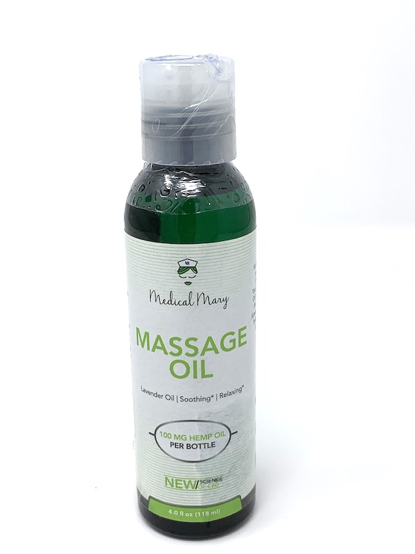 Medical Mary Massage Oil