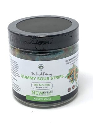 Medical Mary Gummy Sour Strips