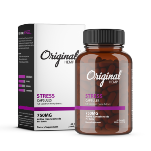 Original Hemp Stress Capsule 750