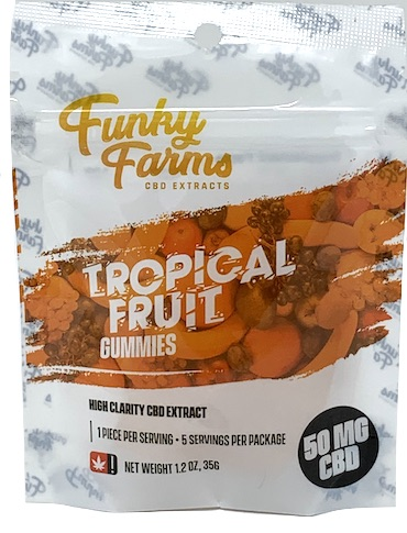 Funky Farms 50mg CBD Gummies